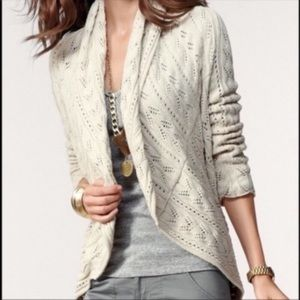 CAbi Circle Sweater Cardigan Shawl Open #720